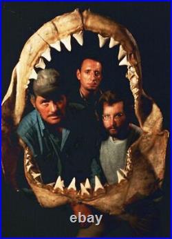 Roy Scheider Richard Dreyfuss JAWS 1975 photo cast signed x15