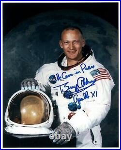 SALE! Buzz Aldrin Apollo 11 Signed Portrait Photo