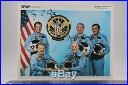 STS-51-C Autopen Signed Ken Mattingly, Loren Shriver, James Buchli, Gary Payton