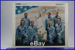 STS-51-D Official Autopen Signed Bobko, Williams, Seddon, Hoffman, Walker, Garn