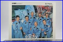 STS-51-F Autopen Signed Fullerton/Bridges/Henize/Musgrave/England/Acton/Bartoe