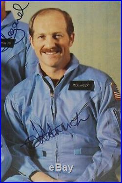 STS-7 Autopen Signed Robert Crippen/Frederick Hauck/John Fabian/Norman Thagard