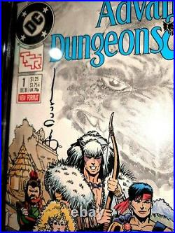 Signed Jan Duursema Cgc 9.8 1988 Advanced Dungeons And Dragons #1 Autographed