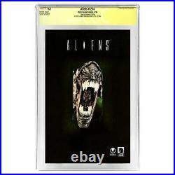 Sigourney Weaver, Paxton, Aliens Cast Autographed Aliens #V2 #4 CGC SS 9.8