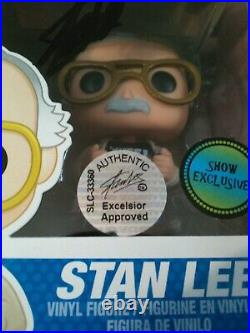 Stan Lee Signed Convention Exclusive Funko Pop 01 Authentic Excelsior Approved