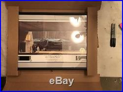 Star Wars A New Hope Millenium Falcon Ralph McQuarrie Autographed Lithograph