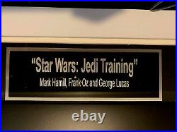Star Wars Jedi Training Autographed Photo Signed by George Lucas + more with COA