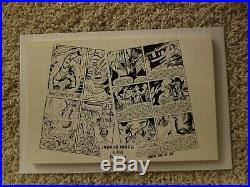 Steve Ditko Signature Autograph Signed Static #2 1989. Free Shipping