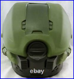 Steve Downes Autographed Halo Master Chief Helmet Beckett Auth Silver
