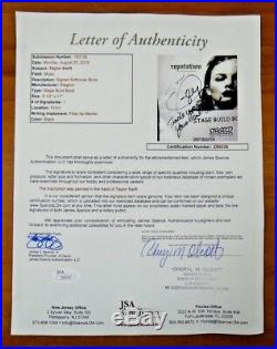 Taylor Swift Signed Very Rare Original Stage Build Book Full JSA Letter