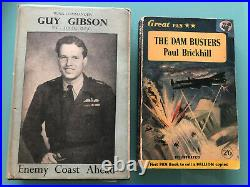 The Dam Busters Dambusters 617 Sqn (Guy Gibson) RAF Barnes Wallis signed book