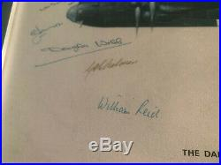 Guy Gibson signed photo print
