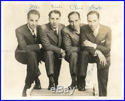 The Marx Brothers Photograph Signed With Co-signers