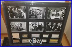 The Three Stooges Autograph Collection Signed JSA COA