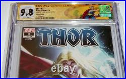 Thor #2 CGC SS Signature Autograph 9.8 Donny Cates Variant Edition Signed 125