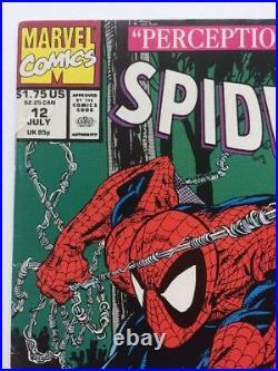 Todd McFarlane Signed Spider Man 12 Autographed Marvel Wolverine