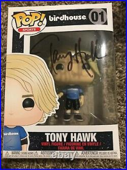 Tony Hawk Signed Birdhouse Funko Pop Autographed Auto JSA COA