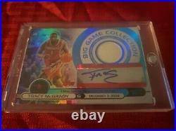 Tracy Mcgrady 05-06 Topps Finest Big Game Collection Autographed Auto Card 1/99