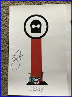 Twenty One Pilots Signed Vessel Poster Tyler Joseph Josh Dun Autographed