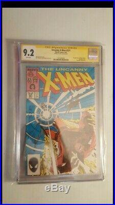 Uncanny X-Men #221 Stan Lee Autograph signed CGC 9.2 1987 1st app. Mr. Sinister
