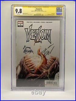 Venom 3 CGC 9.8 SS 2x Signed Cates Stegman Knull King In Black