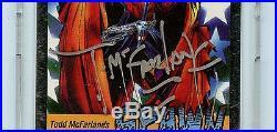 Wizard Todd McFarlane Autographed Platinum Spawn Card Diamond Comics 1992 A1